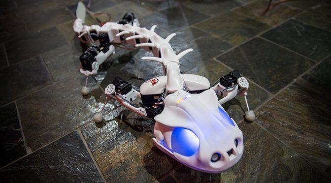 Pleurobot Salamander Robot by EPFL
