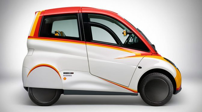 Shell Unveils Super Energy Efficient Concept Car That Runs On Bespoke Oil