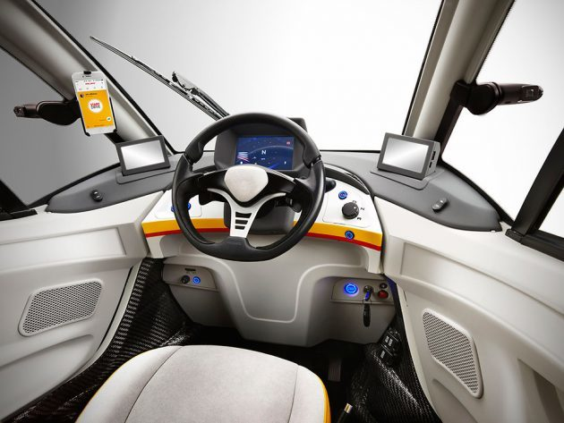Shell Concept Car by Gordon Murray Design and Geo Technology