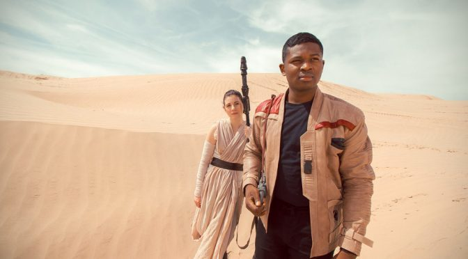 The Real Finn And Rey With Cute 'BB-8' Is Probably The Best Family Cosplay Ever