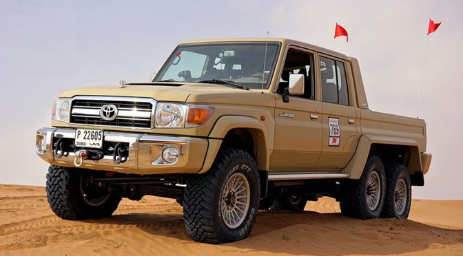 Forget About Mercedes G63, Here's An Awesome 6×6 For Toyota Lovers