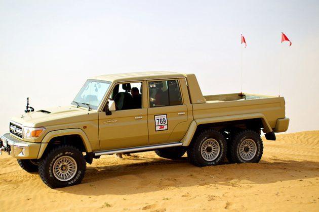 Toyota Land Cruiser 6x6 by NSV Automotive