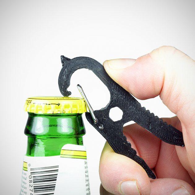 Wishbone Wrench + Carabiner Multitool