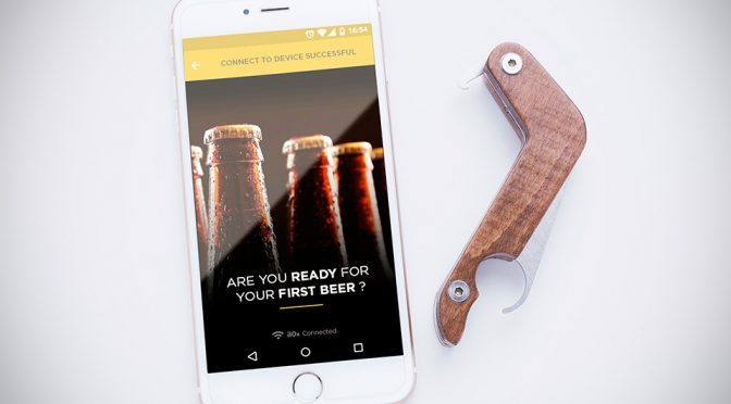 BOx Smart Bottle Opener by HIKAMI
