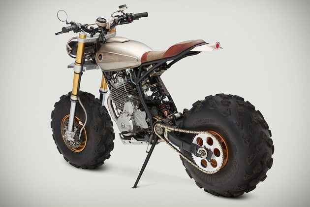 BW650 Custom Motorcycle by Classified Moto