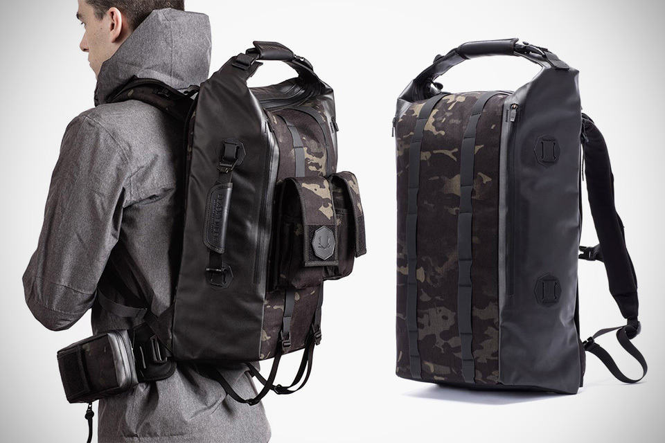 Black Ember Modular Backpacks Bags For Work Play And