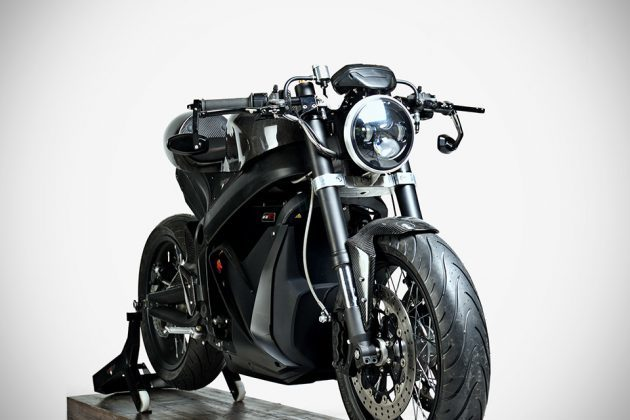 Custom Zero SR Electric Motorcycle by White Collar Bike