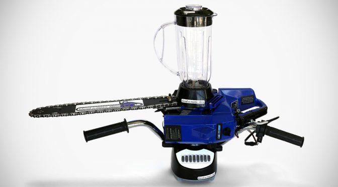 DIY Chainsaw Blender by Mike Warren