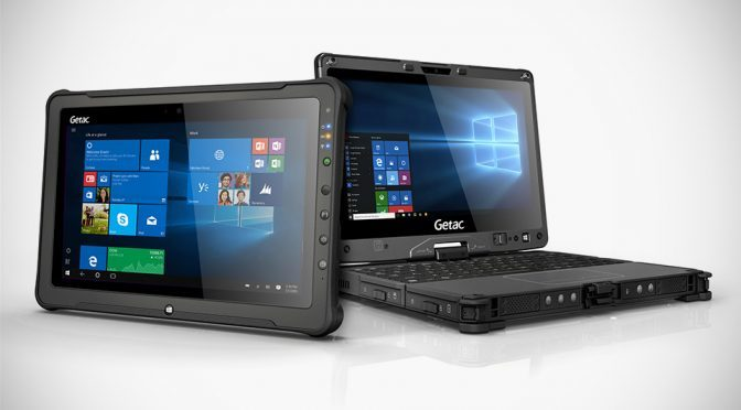 GETAC F110 Fully Rugged Tablet and V110 Fully Rugged Convertible
