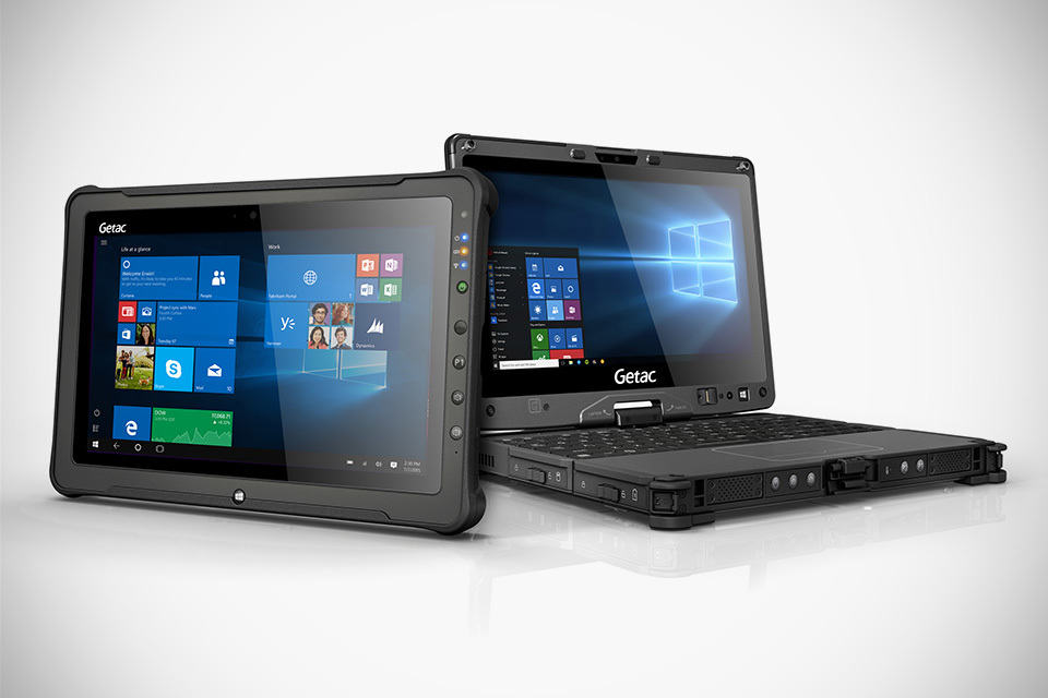 Best Convertible Laptop >> Next-gen GETAC F110 and V110 Fully Rugged Tablet and Convertible - MIKESHOUTS