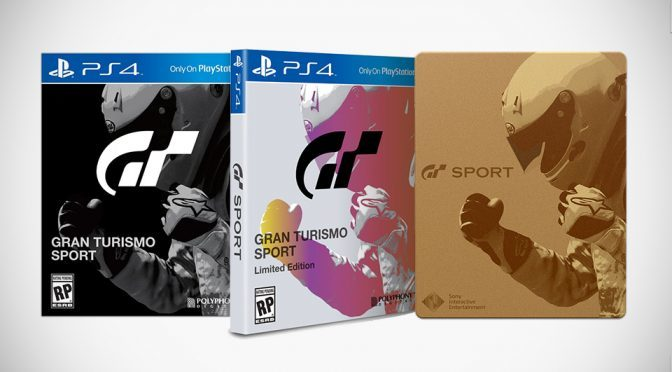 Gran Turismo Sport Unveiled With Pre-order Special