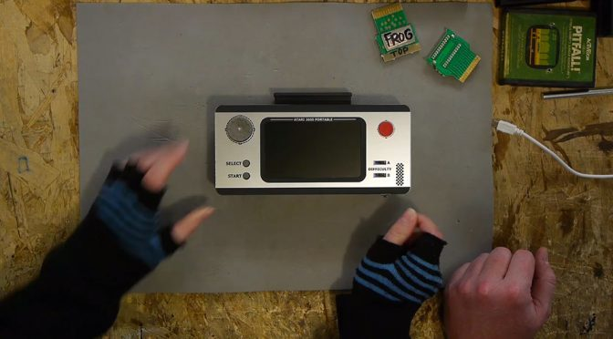 Watch How Ben Heck Turned An Atari 2600 Into A Portable Gaming Device