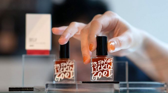 KFC-flavored Nail Polish: Now, That's Literally Finger Lickin' Good!