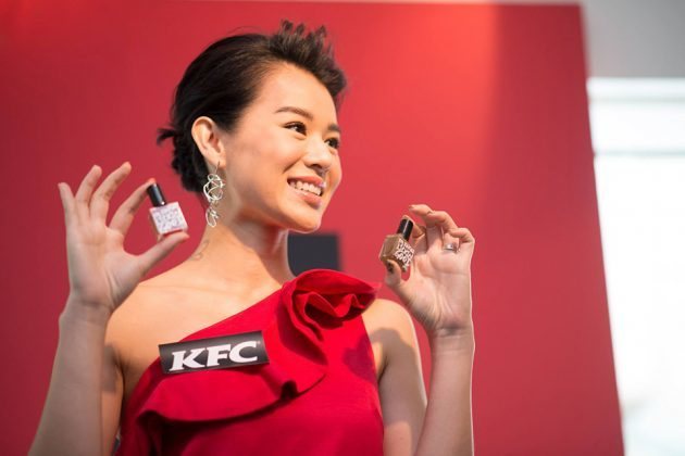 KFC Finger Lickin' Good Edible Nail Polish