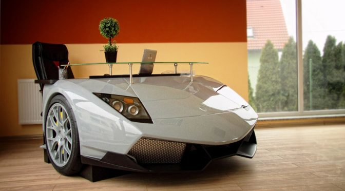 Design Epicentrum Puts Luxury Cars In Your Living As Functional Furniture
