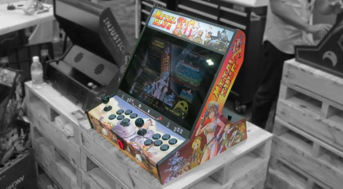 Playcade Tabletop Arcade Cabinet by Re Arcade