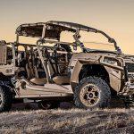 Polaris Unveils V22 Osprey-friendly Turbo Diesel MRZR Military Vehicle