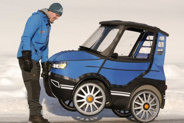4 wheel power assist electric bicycle looks like a real for Is a bicycle considered a motor vehicle