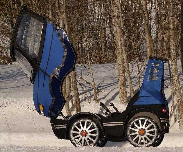 PopRide Bicycle Car Kit by JMK Innovation