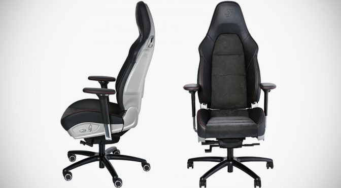 Porsche Turns 911 GT3 Body-hugging Seat Into A Swivelling Office Chair