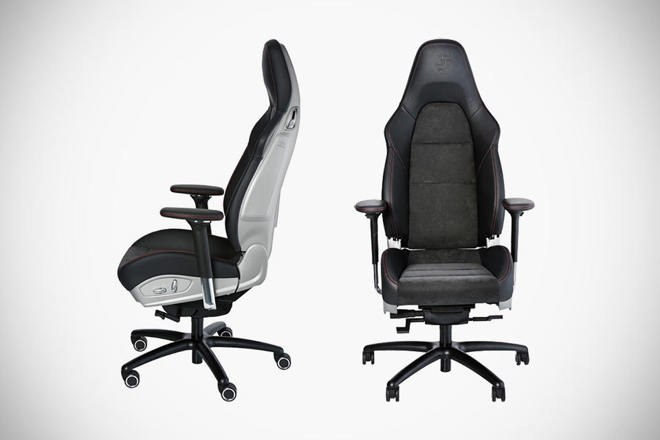 Porsche Turns 911 GT3 Body-hugging Seat Into A Swivelling Office Chair -  MIKESHOUTS