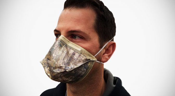 Dust Mask Becomes Cool With Realtree Xtra Camo Nuisance Dust Mask