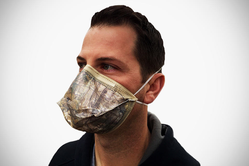 Dust Mask Becomes Cool With Realtree Xtra Camo Nuisance