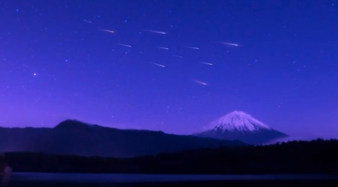 """""""Sky Canvas Project"""" Manmade Meteor Shower by ALE"""
