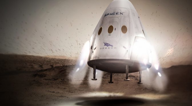 SpaceX Wants To Send A Crew-less Rocket To Mars In 2018