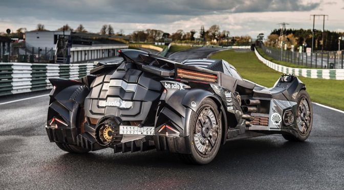 Team Galag Batmobile 2.0 for Gumball 3000 Rally