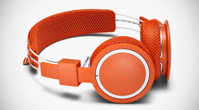 Urbanears Turns Active Headphones Into Clay Red For Roland-Garros