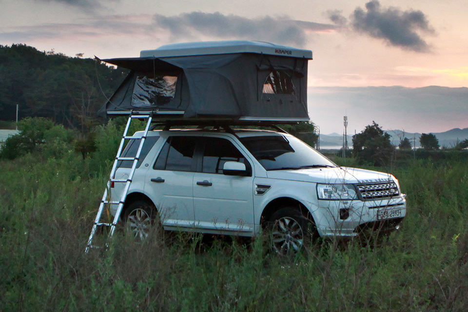 ... iK&er Introduces Worldu0027s First Expandable Roof Top Tent To The U.S. & MINI Wants You Camp With MINI Countryman With This Roof Tent ...