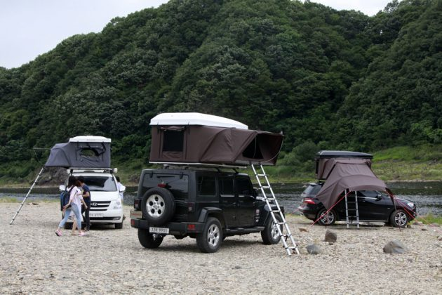iKamper Hardtop One Expandable Roof Top Tent