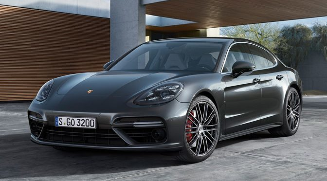 Porsche Unveils Faster And More Fuel Efficient All-new Panamera