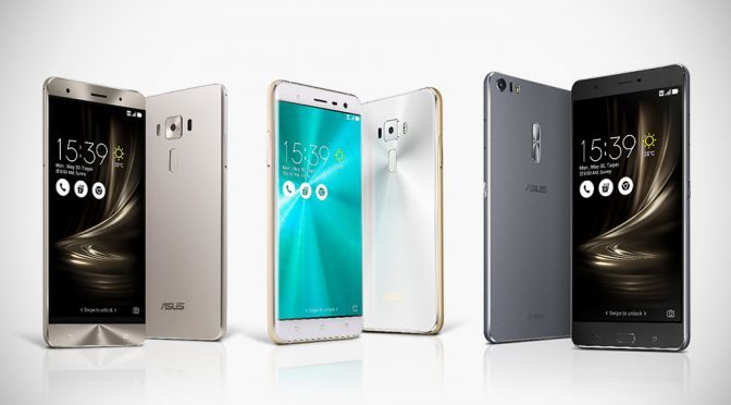 ASUS ZenFone 3 Family of Smartphone