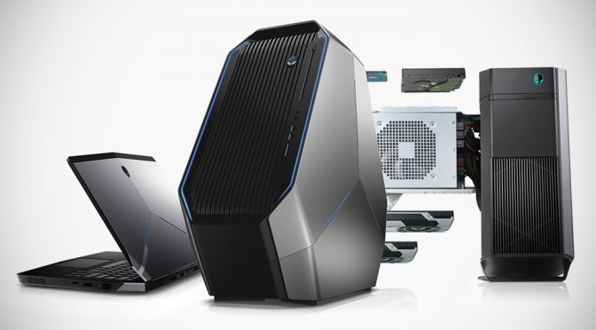 Alienware Laptop and Desktop Computers at E3 2016