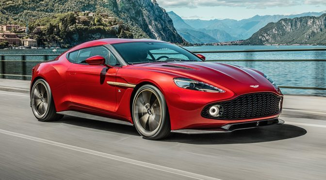 Aston Martin Vanquish Zagato Is Officially A Real Car Money Can Buy