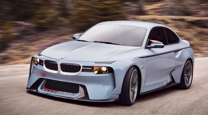 BMW Pays Tribute To The Iconic BMW 2002 Turbo With BMW 2002 Hommage