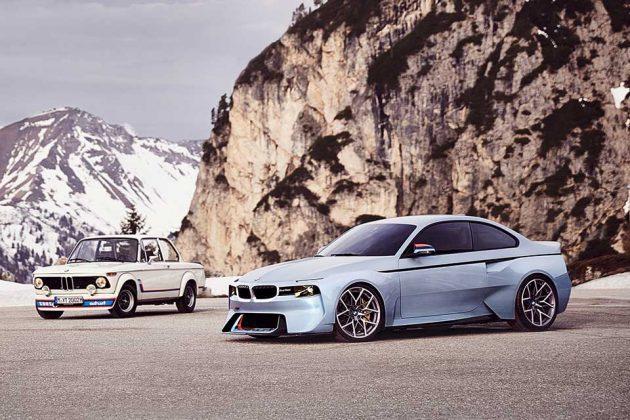 BMW 2002 Hommage Design Study