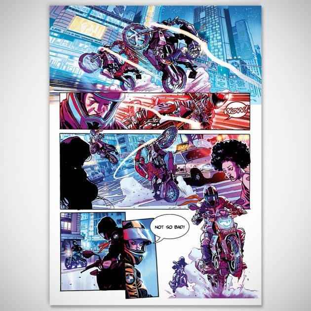 "BMW Motorrad Graphic Novel ""Riders in the Storm"""