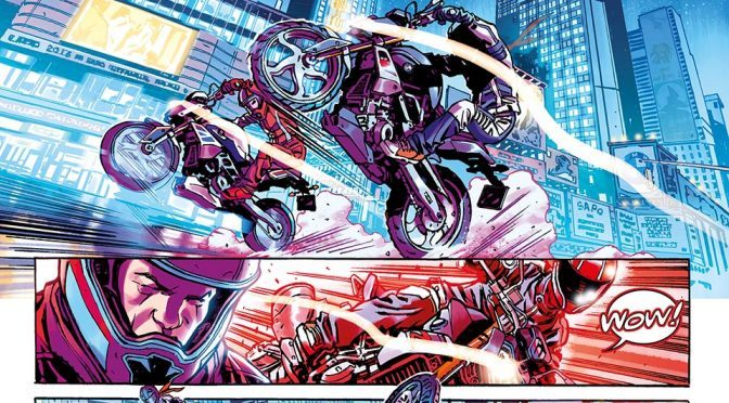 This is <em>Riders in the Storm</em>, BMW Motorrad's First Graphic Novel