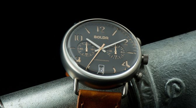 BOLDR Journey Chronograph – Beautiful, Classy And Affordable