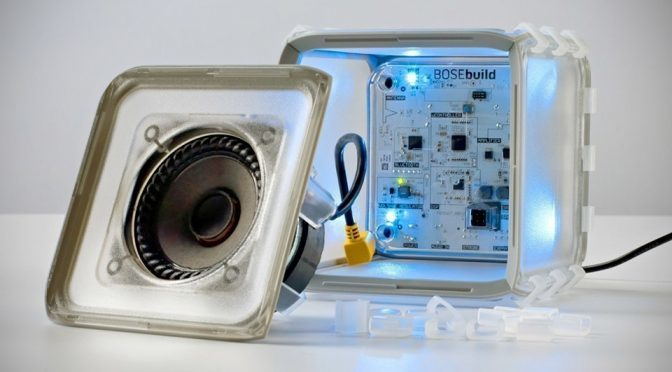 Bose Introduces BOSEbuild For Kids To Build Their Own Bose Speaker