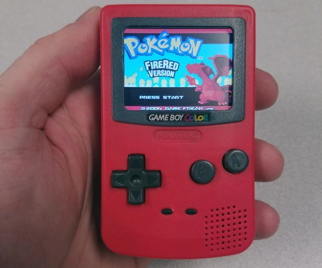 ChaseLambeth's DIY Gameboy Color Nano