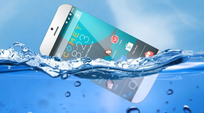 Comet Core's First Smartphone Goes Beyond Waterproof – It Floats!