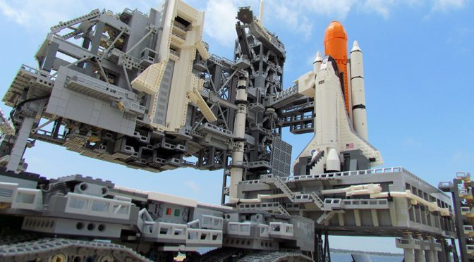 Incredibly Detailed LEGO Kennedy Space Center Had Our Minds Blown