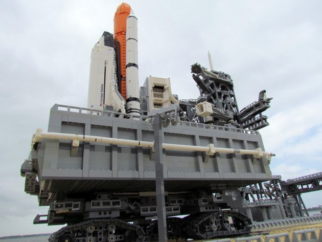 Custom LEGO Kennedy Space Center Launch Complex 39A