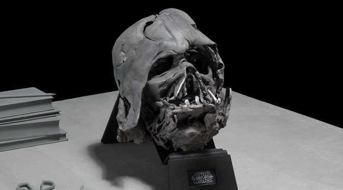 Darth Vader Melted Helmet: The Dark Side Will Make You $3,500 Poorer