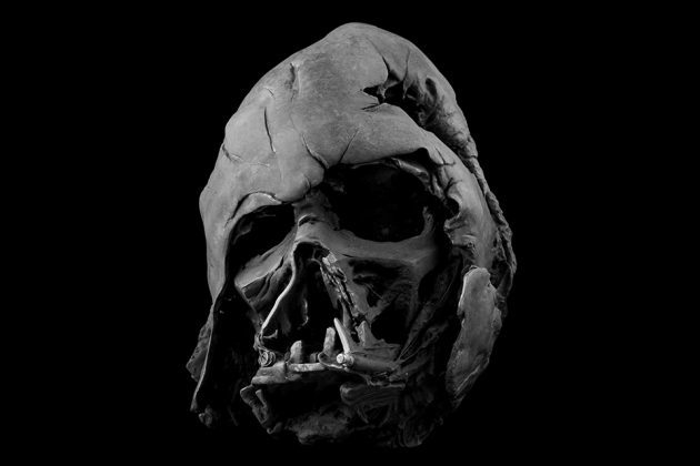 Darth Vader Melted Helmet from Star Wars Collectibles