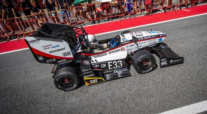 Formula Student Team's Electric Car Made 0-100 Kph In 1.513 Seconds